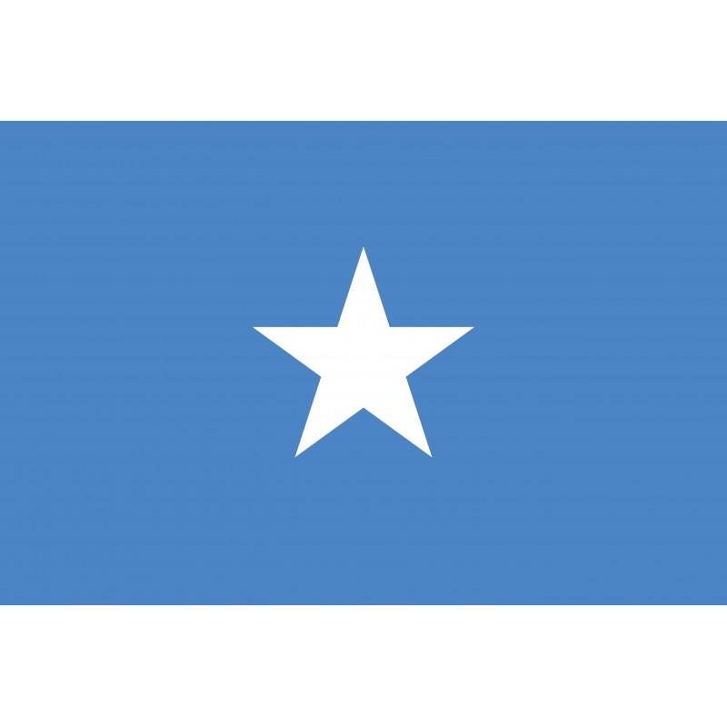 Drapeau Autocollant Somalie 10 cm