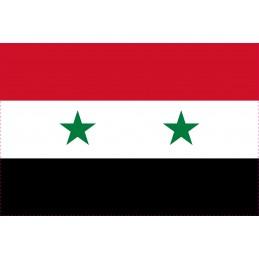 Drapeau Autocollant Syrie 10 cm