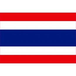 Drapeau Autocollant Thaïlande 10 cm
