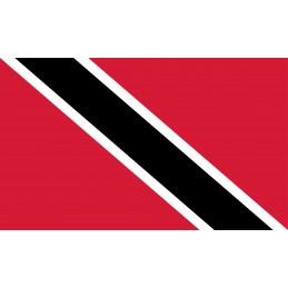 Drapeau Autocollant Trinidad et Tobago 10 cm