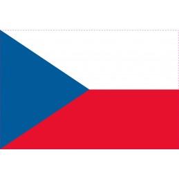 Drapeau Autocollant République Tchèque 10 cm