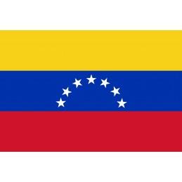 Drapeau Autocollant Venezuela 10 cm
