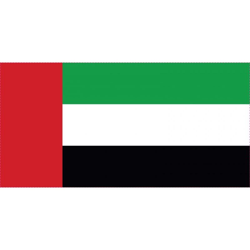 Drapeau Autocollant United Arab Emirates 10 cm