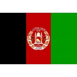 Drapeau Autocollant Afghanistan 10 cm