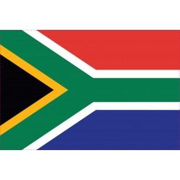 Drapeau Autocollant Afrique du Sud 10 cm