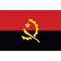 Drapeau Autocollant Angola 10 cm