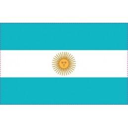 Drapeau Autocollant Argentine 10 cm