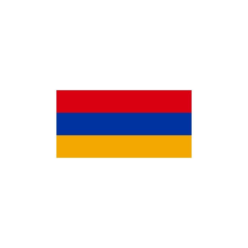 Drapeau Autocollant Arménie 10 cm