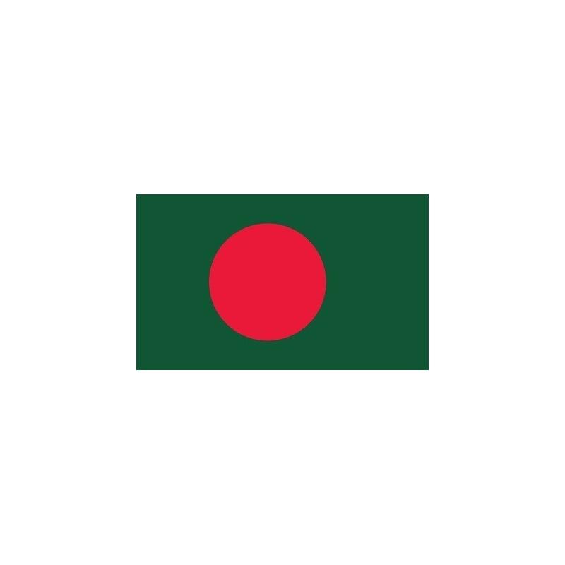 Drapeau Autocollant Bangladesh 10 cm