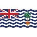 Drapeau Autocollant du Territoire Britannique Dans L'Océan Indien 10 cm