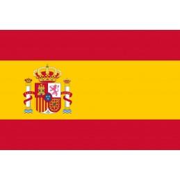 Drapeau Autocollant Espagne 10 cm
