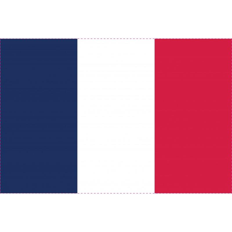 Drapeau Autocollant France 10 cm