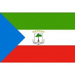 Drapeau Autocollant Guinée Équatoriale 10 cm