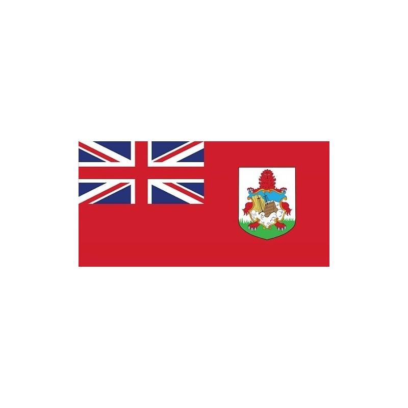 Drapeau Autocollant Des Bermudes 10 cm
