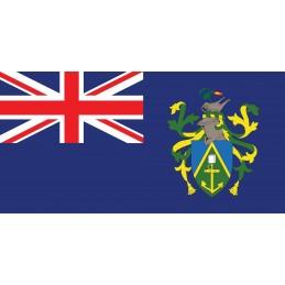 Drapeau Autocollant des Îles Pitcairn 10 cm