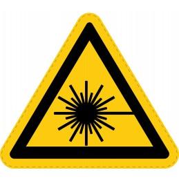 Panneau Autocollant de Danger - Rayonnement Laser