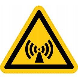Panneau Autocollant de Danger - Radiation Non Ionisante