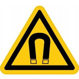 Panneau Autocollant de Danger - Champ Magnétique