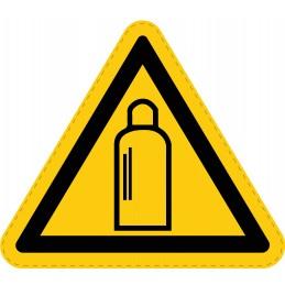 Panneau Autocollant de Danger - Bouteilles Sous Pression