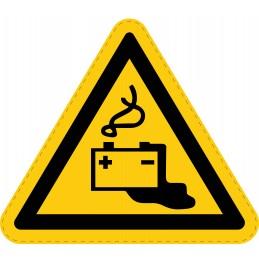 Panneau Autocollant de Danger - Charge de la Batterie en Cours