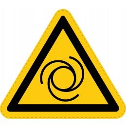 Panneau Autocollant de Danger - Démarrage Automatique
