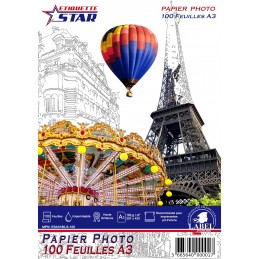 100 Feuilles Papier Photo...
