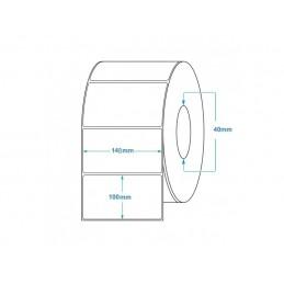 1000 Étiquettes Transfert Thermique Direct 148x100mm