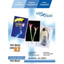 100 Feuilles Papier Photo A2 Premium Haute Brillance 230g