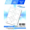 100 Feuille A4 Etiquettes Adhésives Autocollantes 115mm papier...