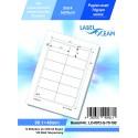 100 Feuille A4 Etiquettes Adhésives Autocollantes 99.1x48mm papier...