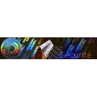 Etiquettes Hologramme Imprimées Avec Logo et Texte